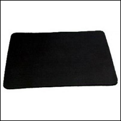 Grand tapis noir